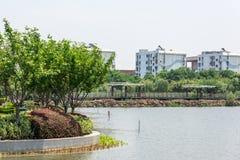 Nan Lake Park-landschap Stock Afbeeldingen