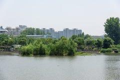 Nan Lake Park-landschap Royalty-vrije Stock Afbeelding