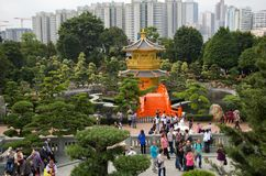 Nan Lian Garden Royalty-vrije Stock Afbeelding