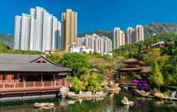 Nan Lian Garden, a Chinese Classical Garden in Hong Kong Royalty Free Stock Photo