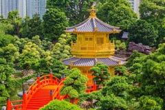 Nan Lian Garden denna är ett regerings- offentligt parkerar, Kowloon Royaltyfri Bild