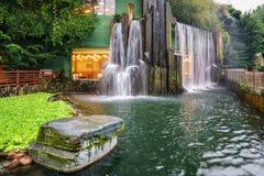 Nan Lian Garden in Diamond Hill in Hong Kong stock foto