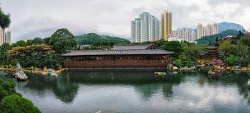 Nan Lian Garden in Diamond Hill in Hong Kong royalty-vrije stock afbeeldingen