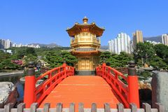 Nan Lian Garden, in Diamond Hill, Hong Kong. Stock Photography