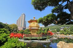 Nan Lian Garden, in Diamond Hill, Hong Kong. Royalty Free Stock Photography