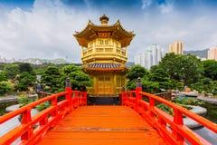Nan Lian Garden, dit is een overheids openbaar park, Kowloon royalty-vrije stock foto