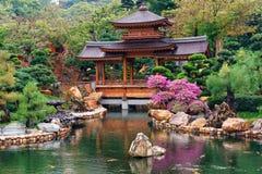Nan Lian Garden en Diamond Hill en Hong Kong Fotografía de archivo