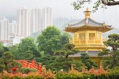 Nan Lian Garden en Hong-Kong Foto de archivo libre de regalías