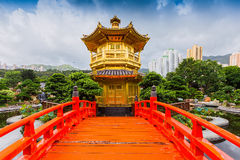 Nan Lian Garden,This is a government public park,Kowloon Royalty Free Stock Photo