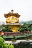 Nan Lian Garden,This is a government public park,situated at Dia. Mond hill,Kowloon,Hong Kong Royalty Free Stock Images