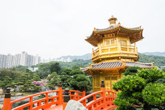 Nan Lian Garden,This is a government public park,situated at Dia. Mond hill,Kowloon,Hong Kong Royalty Free Stock Photography