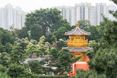 Nan Lian Garden,This is a government public park,situated at Dia. Mond hill,Kowloon,Hong Kong Stock Image