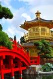 Nan Lian Garden, Hong Kon. Pavilion of Absolute Perfection in the Nan Lian Garden, Hong Kong Stock Photo