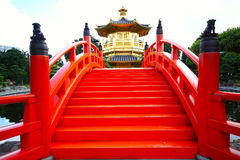 Nan Lian Garden, Hong Kon Royalty Free Stock Images