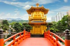 Nan Lian Garden, Hong Kong, Cina Fotografia Stock Libera da Diritti