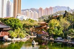 Nan Lian Garden i Hong Kong Royaltyfria Bilder