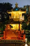 Nan Lian Garden på Diamond Hill i Hong Kong Arkivfoto