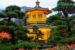 Nan Lian Garden på Diamond Hill i Hong Kong Royaltyfria Bilder