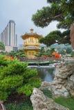 Nan Lian Garden på Hong Kong Royaltyfri Fotografi