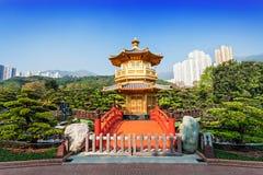 Nan Lian Garden. Pagoda at Nan Lian Garden, Chi Lin Nunnery, Hong Kong Royalty Free Stock Photo