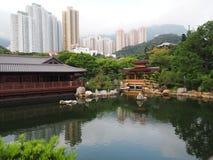 Nan Lian Garden, qui Lin Nunnery Foto de Stock Royalty Free