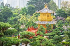 Nan Liana ogród przy Hongkong Fotografia Royalty Free