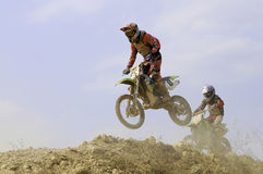 Nan motocross championship,Thailand Royalty Free Stock Photo