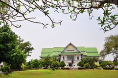 Nan National Museum. The building of the Nan National Museum was actually constructed in 1903 and once the residence of a ruler of Nan. It displays exhibitions Royalty Free Stock Photo