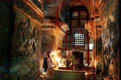 Nan Paya temple built of sandstone Stock Photography