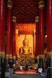 Nan Province, Thailand - 11. Februar: Wat Phra That Chang Kam W Lizenzfreies Stockfoto