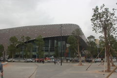 NAN SHAN Cultural and Sports Center Theater IN SHENZHEN Stock Image