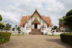 NAN, TAJLANDIA Lipiec 29: Wata Phumin świątynia i miejsca kultu Obraz Royalty Free