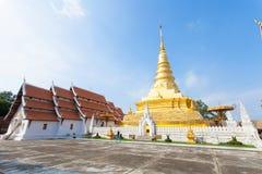 Nan temple. Monastery abbey thailand Stock Image