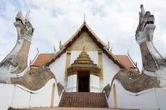 NAN, THAILAND 29 Juli: Wat Phumin Places van verering en tempel Stock Afbeeldingen