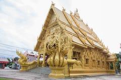 NAN, THAILAND 29 Juli: Wat Sri Panton Places van verering en tem Stock Fotografie