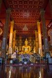 NAN, THAILAND 28 Juli: Wat Suan Tarn Places van verering en temperaturen Stock Foto's