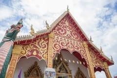 NAN, THAILAND 28 Juli: Wat Suan Tarn Places van verering en temperaturen Royalty-vrije Stock Afbeelding