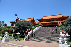 Nan Tien Temple - Australië stock afbeelding