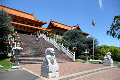Nan Tien Temple - Australia fotos de archivo