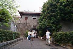 NaN TU av Shenzhen den forntida staden Fotografering för Bildbyråer