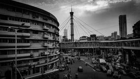 Nana Chowk, Mumbai stock afbeeldingen