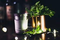 Nana Leaves-Cocktail lizenzfreie stockfotografie