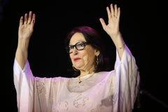Nana Mouskouri lizenzfreies stockfoto