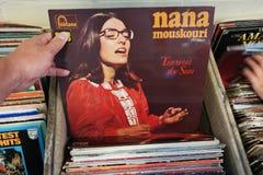 Nana Mouskouri Stock Image