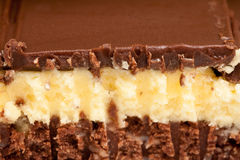 Nanaimo bar Royalty Free Stock Images