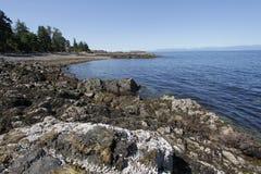 Nanaimo landskap Royaltyfri Fotografi