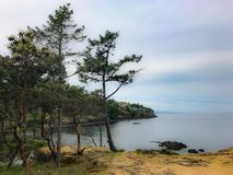 Nanaimo widok na ocean Fotografia Stock