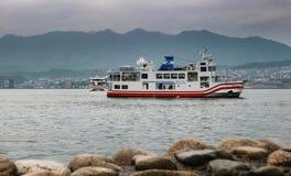 Nanaura maru (JR) ferry Royalty Free Stock Photos