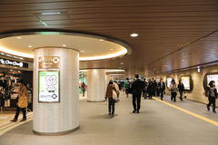 Nanba , underground shopping mall Royalty Free Stock Images