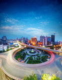 Nanchang china. City Scape of the nanchang china Stock Photography